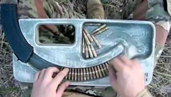 System napełniania magazynka AK47