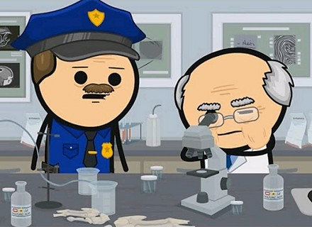 Forensics - Cyanide & Happiness Shorts