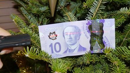 Naukowa niespodzianka w nowych banknotach z Kanady
