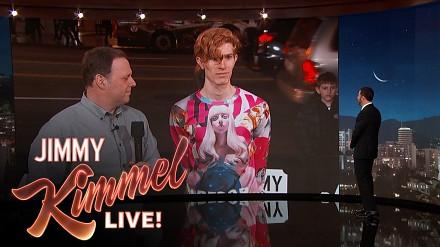 Obcokrajowiec czy nie? Pyta jak zawsze Jimmy Kimmel