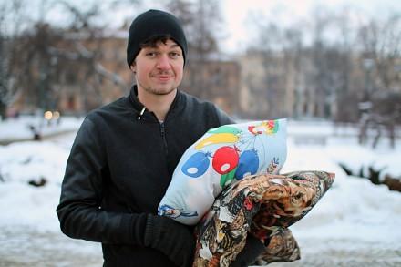 Walka na poduszki na mieście - LukasTV