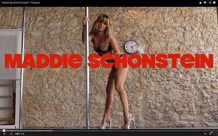 Maddie Sparkle, najlepsza poledancerka Australii ponownie tańczy na rurze