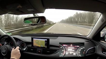 Niebezpieczna sytuacja na autostradzie w Niemczech