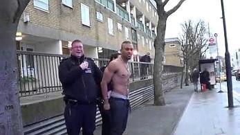 Dziwny przypadek w trakcie aresztowania