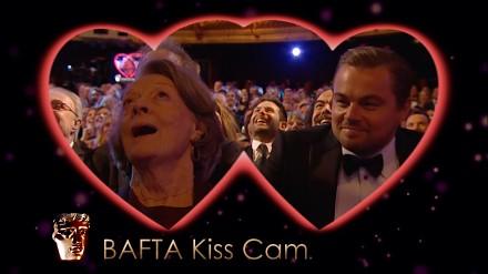BAFTA Kiss Cam: Leonardo DiCaprio i Maggie Smith