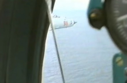 Przelot polskich MiGów 21 nad Bałtykiem latem 1993 roku