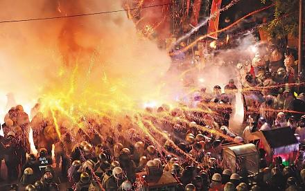 Najniebezpieczniejszy festiwal fajerwerków na świecie