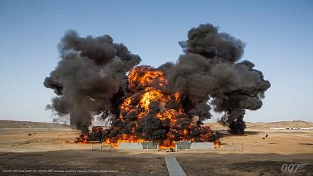 Światowy rekord Guinnessa dla Spectre! Największy wybuch w historii kina !
