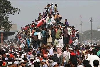 Bangladesz i najbardziej przeludniony pociąg, jaki kiedykolwiek widziałeś