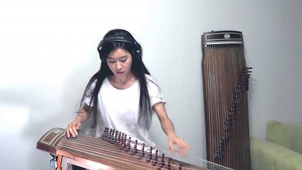 AC/DC - Back in Black Gayageum cover by Luna