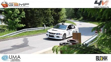 Mitsubishi Lancer Evo IX RS z bardzo szybkim kierowca