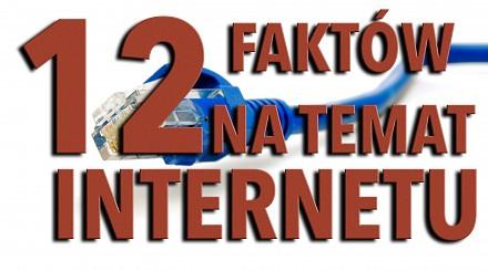 12 faktów na temat internetu