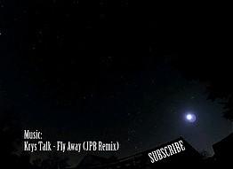 Spadające gwiazdy uchwycone przez Night Time Lapse