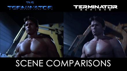 The Terminator & Terminator: Genisys - porównanie scen