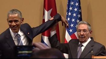 Nikt nie będzie poklepywał Castro. Niezręczna sytuacja podczas wizyty Obamy na Kubie