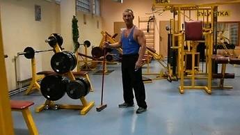 Nietypowy trening na mięśnie grzbietu