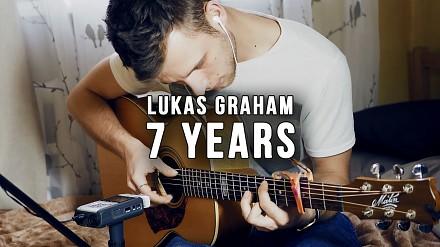 Jedna gitara - cały zespół - L. Graham - 7 Years
