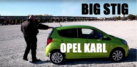 Big Stig jeździ najmniejszym dostępnym na rynku oplem