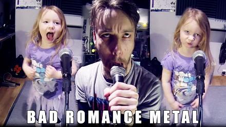 Metalowy cover Bad Romance z jeszcze lepszym teledyskiem