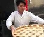 Rozkładanie ciastek na poziomie Azjaty