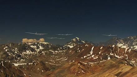 Powietrzne wyścigi szybowcami w Andach