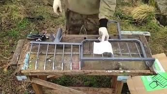 Gadżet dla działkowiczów - połączenie łopaty i wideł