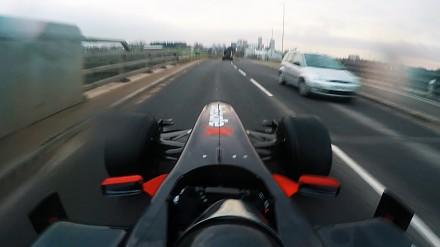 Bolidem F1 do McDrive