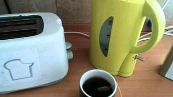 Bezużyteczny wynalazek: muzyka oczekiwania do czajnika lub tostera