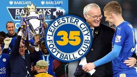 35 ciekawostek o... mistrzostwie Leicester City