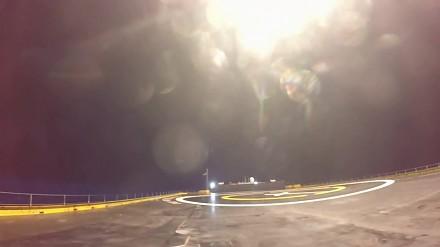 Lądowanie pierwszego stopnia Falcon 9