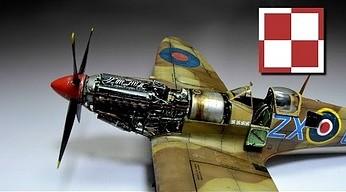 Tym samolotem latał polski as lotnictwa. Składanie modelu Spitfire Mk.IXc krok po kroku