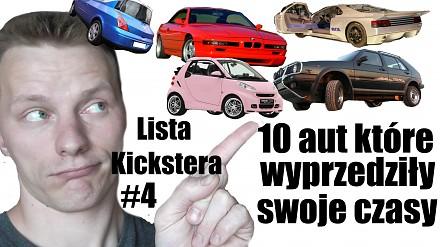 Lista Kickstera #4 - 10 aut które wyprzedziły swoje czasy