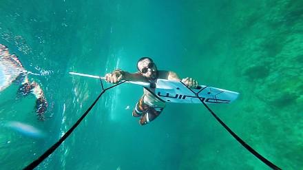 Subwing - nowy sport (pod)wodny testuje na Filipinach nasz bojownik