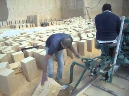 Maszyna do wycinania bloczków z piaskowca