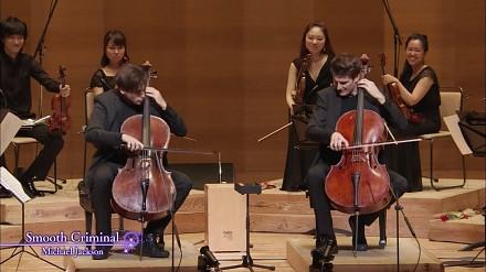 Smooth Criminal w wykonaniu chorwackiego duetu grającego na wiolonczelach