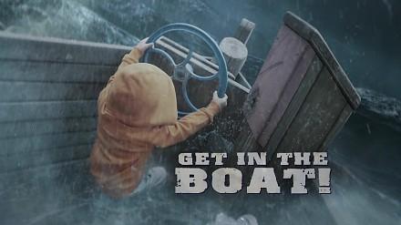 Szybko, do łodzi!
