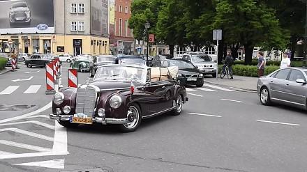 Zlot samochodów z duszą w Gdańsku