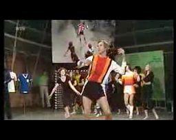 Pokaz mody futbolowej z 1970 roku