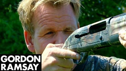 Zestrzelenie i przyrządzanie gołębia - Gordon Ramsay