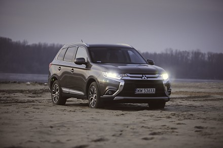 Mitsubishi Outlander Dakar Test #33 What About Cars TV