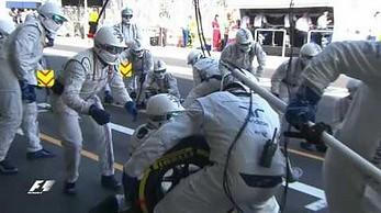Zespół Williams ustanowił nowy rekord świata w najszybszym pitstopie