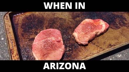Biedota z Arizony gotuje bez użycia ognia