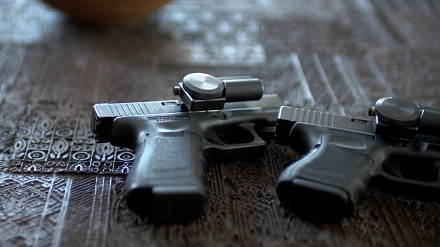 ZORE - System przechowywania zabezpieczonej broni palnej w dowolnym miejscu