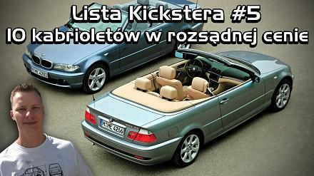 10 kabrioletów w rozsądnej cenie - Lista Kickstera #5
