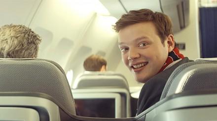 Lufthansa - reklama na Euro