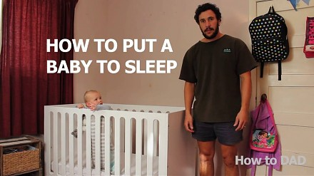 Jak położyć dziecko do spania || How to dad