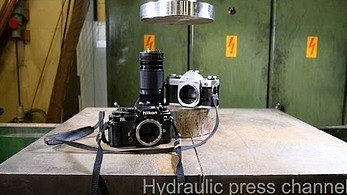 Stare aparaty kontra prasa hydrauliczna
