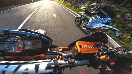 Bardzo nietypowy wyścig... motocykli z wyłączonym silnikami