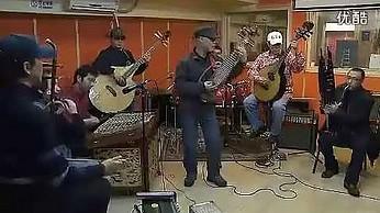 Hotel California zagrany na tradycyjnych chińskich instrumentach