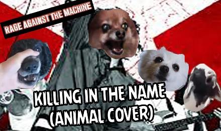 Rage Against The Machine w animalistycznym coverze